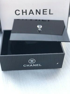 NEW Chanel VIP Gift Vanity  Acrylic Jewelry Box
