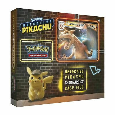 Pokemon DETECTIVE PIKACHU CHARIZARD-GX SPECIAL CASE FILE 7 Booster Packs + Jumbo