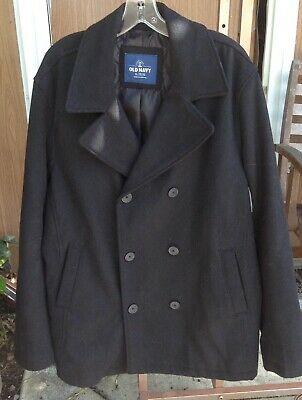 ae881a2e6 OLD NAVY MEN'S Insulated-Stretch Peacoat Black XXXL B&T NWT Reg $99 ...