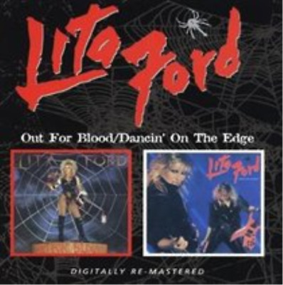 Lita Ford-Out for Blood/dancin' On the Edge (UK IMPORT) CD NEW
