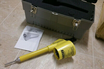 Bierer Model VDAH300 0-300 kV phase to ground Voltage Detector w/ Manual & Case