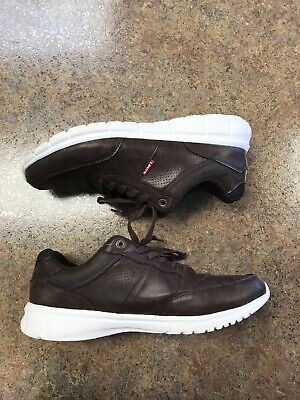 5ff0e601 Levi Strauss & Co Mens Brown Comfortable Casual Lace Up Sneakers Size 13