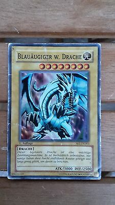 MVP1-DEG46 Blauäugiger alternativer weißer Drache Gold Rare EN NM