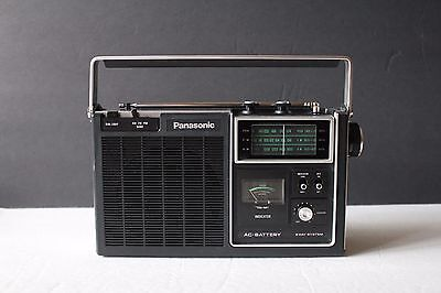 PANASONIC RF-1060 FM AM 3 BAND 2 way System Radio Player Made in Japan USED