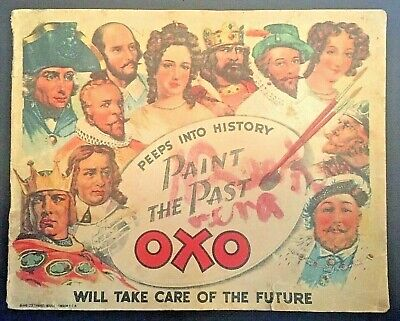 Peeps Into History Paint The Past OXO Booklet Food Advertising History