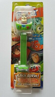 Buzz Lightyear PEZ Toy Story Disney Pixar New Sealed Box Vintage 2009 Dispenser