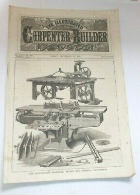 The Illustrated Carpenter and Builder - 11th. September -1885
