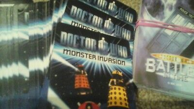 Doctor Who Trading Cards 200 different cards Battles In Time Monster Invasion