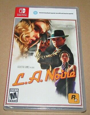 L.A. Noire (Nintendo Switch) Brand New / Fast Shipping