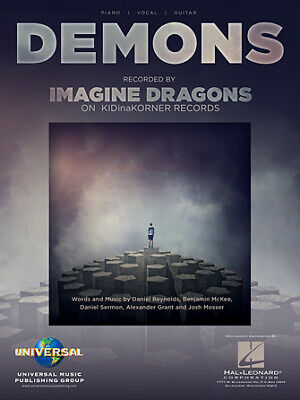 Believer Sheet Music Piano Vocal Imagine Dragons NEW 000248380