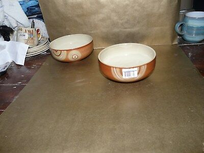 """denby fire chilli cereal / soup bowl brand new 6"""" diameter"""