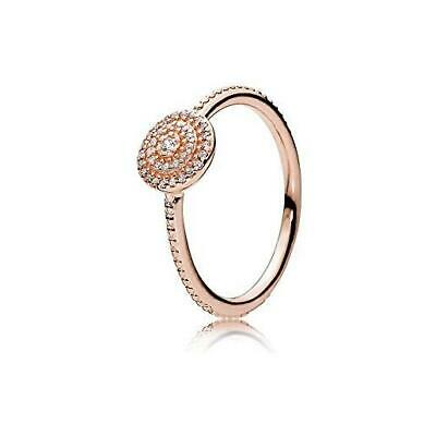 0420e71be PANDORA SHARDS OF Sparkle Ring 197527CZ 14K Gold Vermeil / 18K Rose ...
