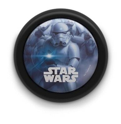Disney Star Wars Night Light Kids Bedroom Lamp Battery Operated LED Box damage