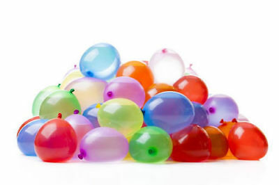 100 Water Balloons Bombs Multi Colour Kids Summer Party Fun Toys Bag Fillers New