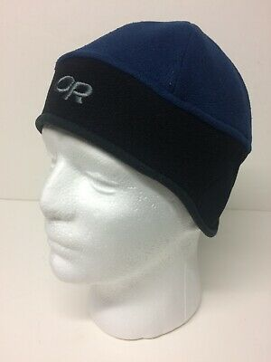 57f68c45a1efd VTG Outdoor Research Wind Warrior Wind Stopper Hat Retro Blue Black Size  Small