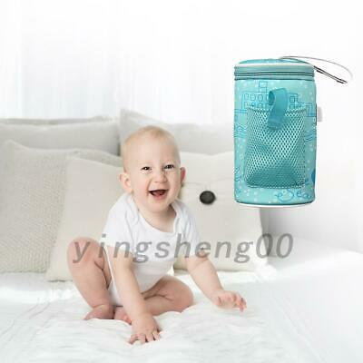 USB Heating Infant Bottle Warmer Milk Thermostat Outdoor Travel Insulated Bag