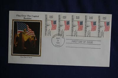 Drafting the Constitution Bicentennial 22c Stamps FDC Colorano Sc#2355-59 CO243