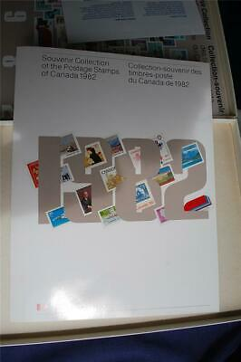 1982 Canada Post Annual Collection Mint Stamps $17.36 Face Value