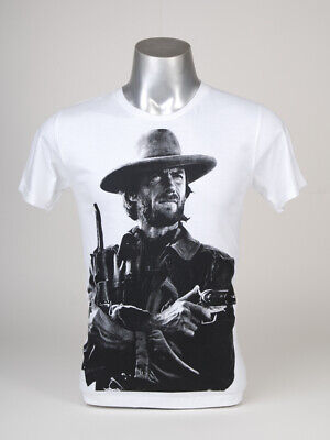 Clint Eastwood T-Shirt Guns Good Bad Ugly Unforgiven Actor Hollywood Movie Film