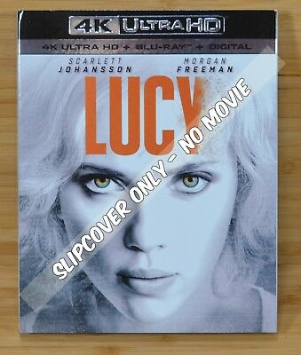 LUCY 4K Blu-ray Slipcover (COVER ONLY-NO MOVIE DISC)