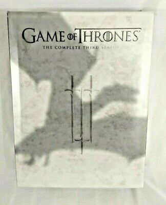 GAME OF THRONES Season 3 (DVD, 2014, 5-Disc Set) Complete HBO Series Box Set