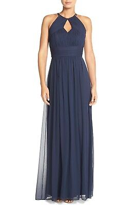 d0ab1f333c474 NEW DESSY COLLECTION Gown Style 3013 Bridesmaid Dark Blue Midnight ...