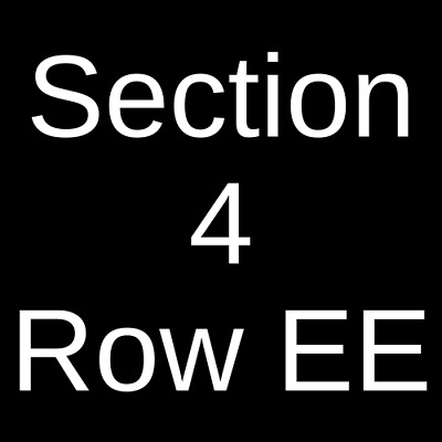 4 Tickets Death Cab For Cutie 7/7/19 Iroquois Amphitheater Louisville, KY