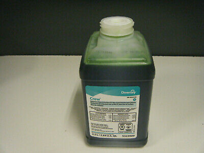 Diversey Crew Restroom Floor & Surface Non-Acid Disinfectant Cleaner 2.64 Us.Qt.