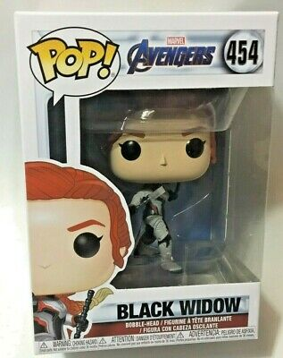 FUNKO Pop Marvel AVENGERS ENDGAME BLACK WIDOW #454 4in Vinyl Figure IN STOCK
