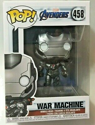 FUNKO Pop Marvel AVENGERS ENDGAME WAR MACHINE #458 4in Vinyl Figure IN STOCK