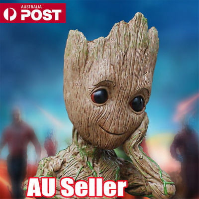 Guardians of The Galaxy Baby Groot Figure Flowerpot Pen Pot Toy Party Gift 16CM