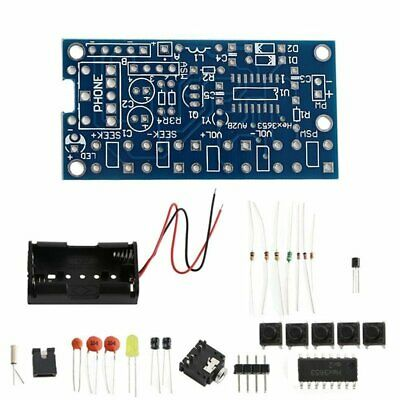 Wireless Stereo FM Radio Receiver Module PCB DIY Electronic Kits 76MHz-108MHz AF