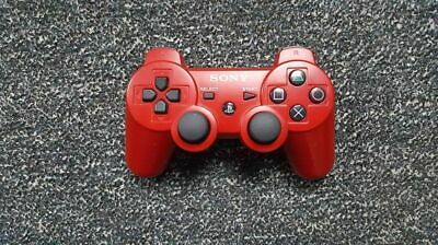 Sony PS3 Controller Rot / Red Sixaxis Dualshock 3 PS3 / Playstation 3