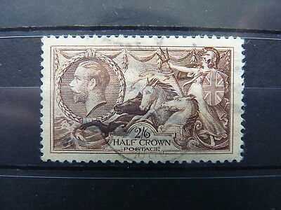 Great Britain. King George V. 1934 Re-Engraved Seahorse. 2/6 Sg 450. Fu