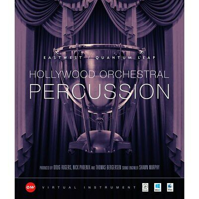 EastWest Hollywood Orchestral Percussion Gold Edition - Virtual Instruments