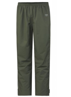c8592dc37b Helly Hansen Waterloo Waterproof Over Trousers Mens Olive Workwear UK Sized  3XL