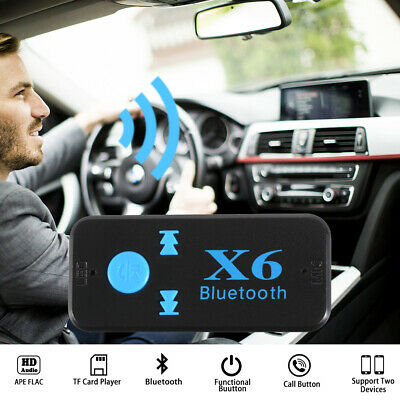 Bluetooth Receiver 3.5mm Aux In Handsfree Car Kit Wireless Music Adapter AC1685
