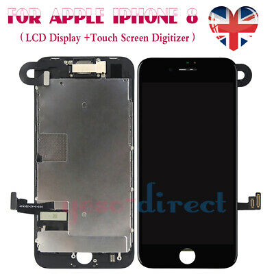 For iPhone 8 Screen Replacement LCD 3D Touch Digitizer Display + Camera Black