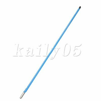 Two Way Dual Action Adjustment Guitar Truss Rod Steel 580 x 9mm Blue