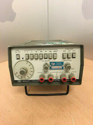 Hewlett Packard HP 3311A Function Generator TESTED WORKING ORDER FREE P&P UK