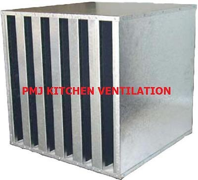 Carbon Discarb Cell Unit Filter For Kitchens Canopies Fans Ducting