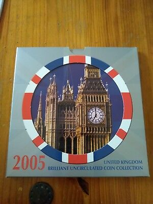 2005 UK Brilliant Uncirculated Coin Collection