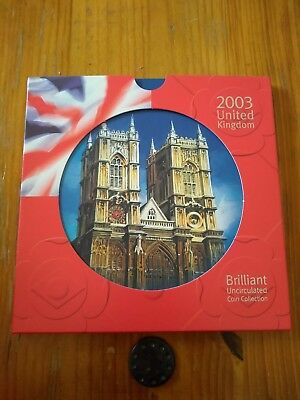 2003 UK Brilliant Uncirculated Coin Collection