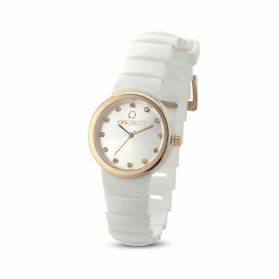 Orologio solo tempo donna Ops Objects Roma OPSPW-560 bianco