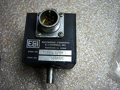 (R2-6) 1 Electronic Counters Pu863-6/5V Encoder