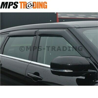 Range Rover Evoque 5 Door - Front & Rear Wind Deflector Set - Da6094