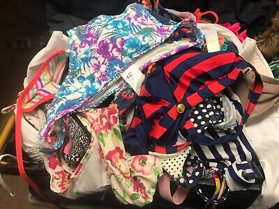 Joblot of swimwear mixed tops and bottoms