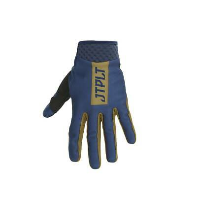 Gants - Jetpilot Matrix Pro Super Lite Glove Full Finger Bleu/Or - XL