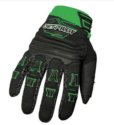 Gants jetski - Jetpilot Race Glove Full Finger Green XS - DESTOCK