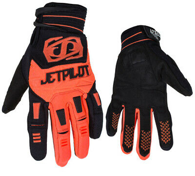 Gants jetski Matrix Race Glove Full Finger Black/Orange JetPilot - 2XL